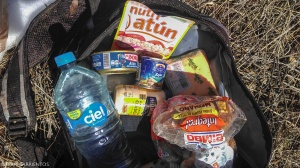 The contents of the the lost backpack.